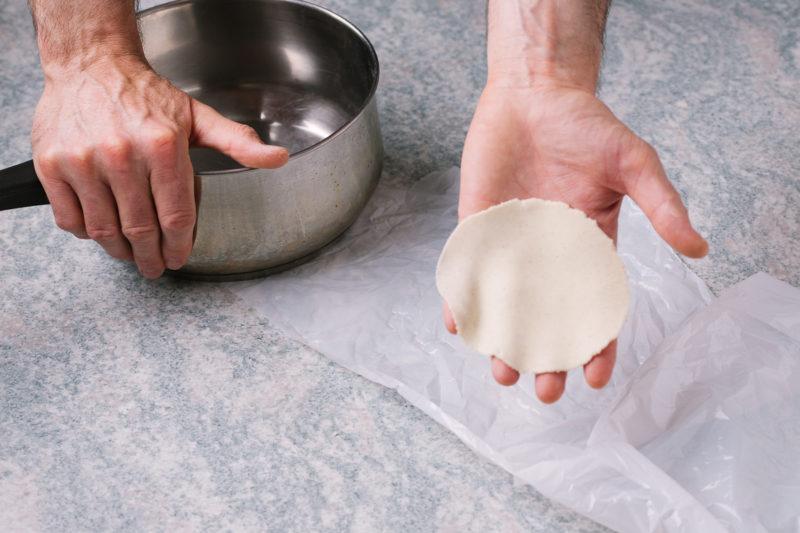 Izrada meksičkih tortilja i tacosa kod kuće - korak 8