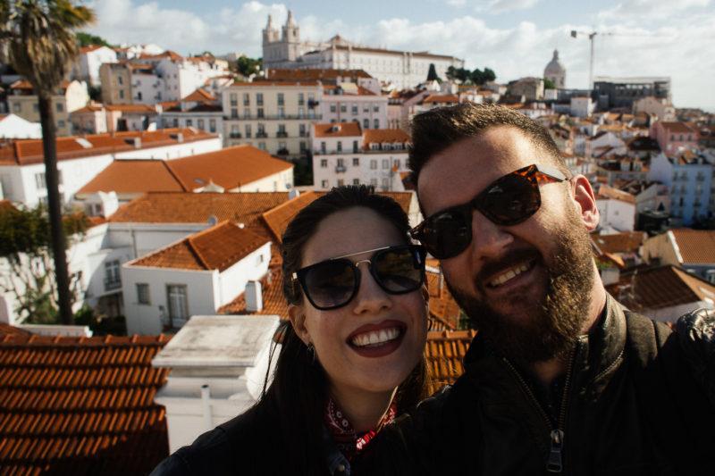 Lisabon, Miradouro das Portas do Sol