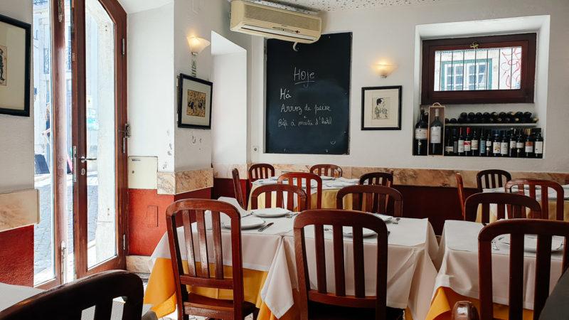 Lisabon, restoran Toma La Da Ca