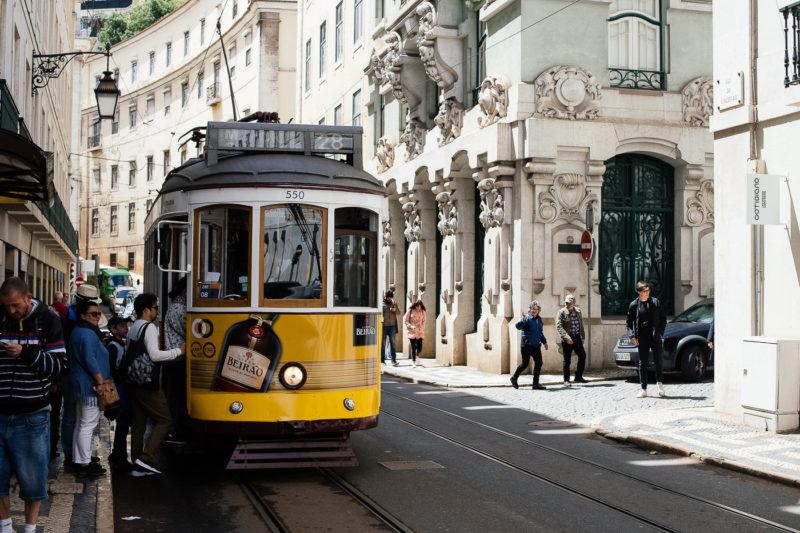 Lisabon, poznati tramvaj br. 28