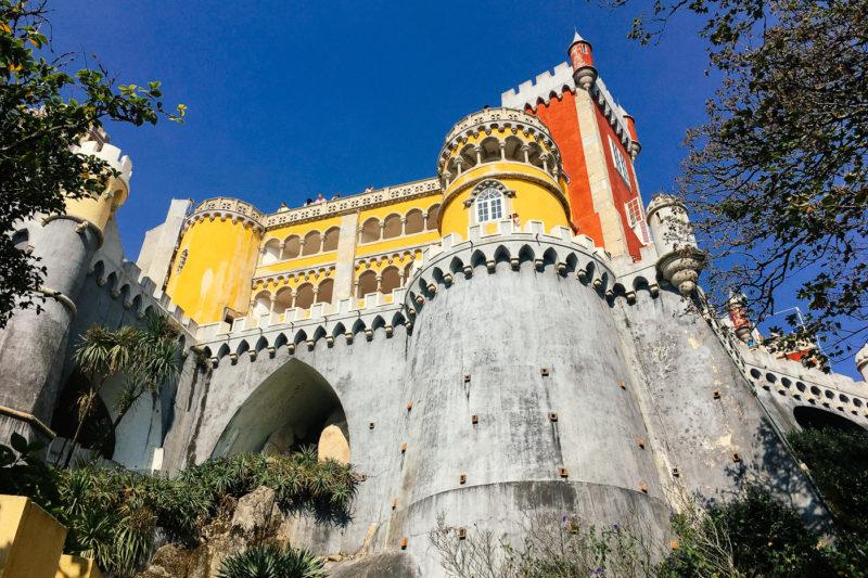 Sintra, dvorac Pena