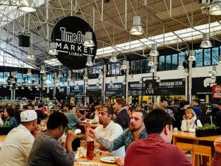 Lisabon, TimeOut market