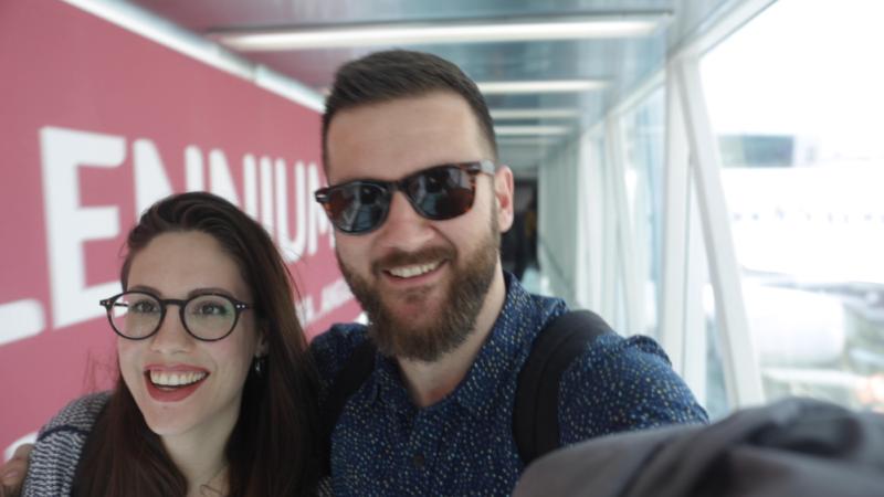 Zagreb aerodrom, odlazak u Portugal
