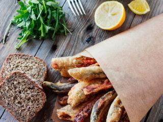 Fritto misto - prženi morski plodovi i sitna riba