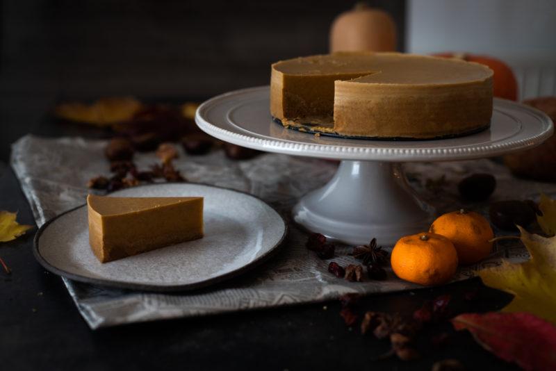 Cheesecake od butternut tikve
