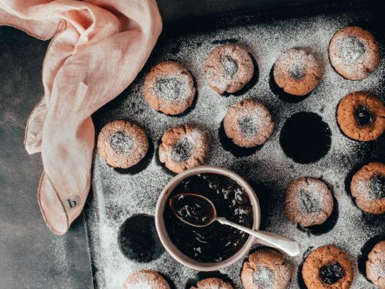 Božićni gluten-free kolačići s pekmezom