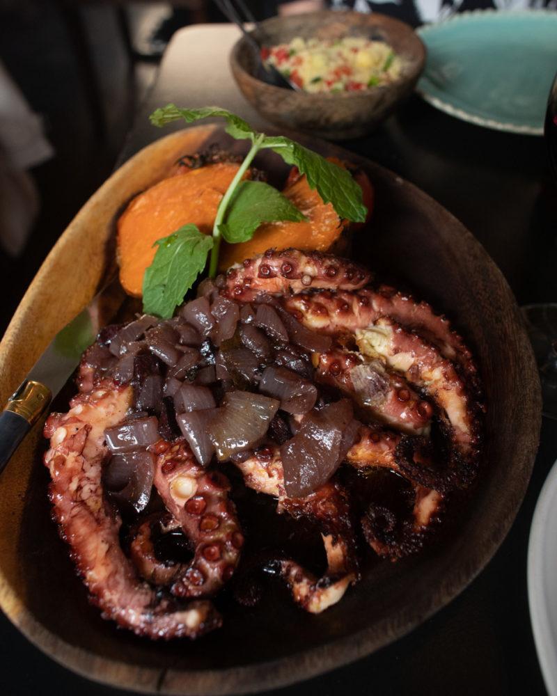 Hobotnica, restoran Cantina 32, Porto