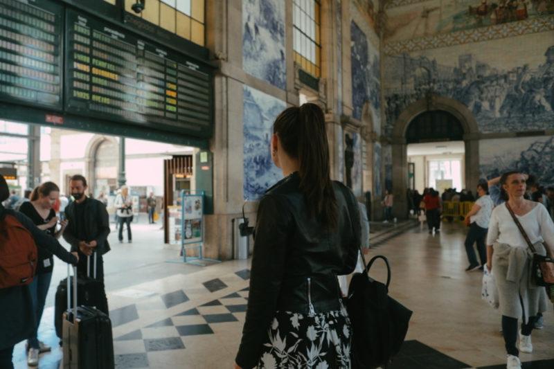Željeznička stanica Sao Bento, Porto