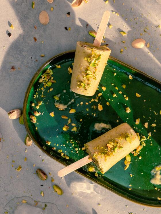 Kulfi - indijski veganski sladoled od pistacija