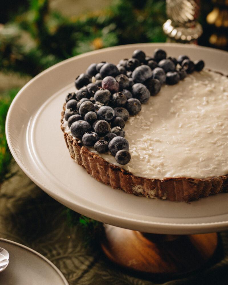 Pita (tart) od kokosa i šumskog voća