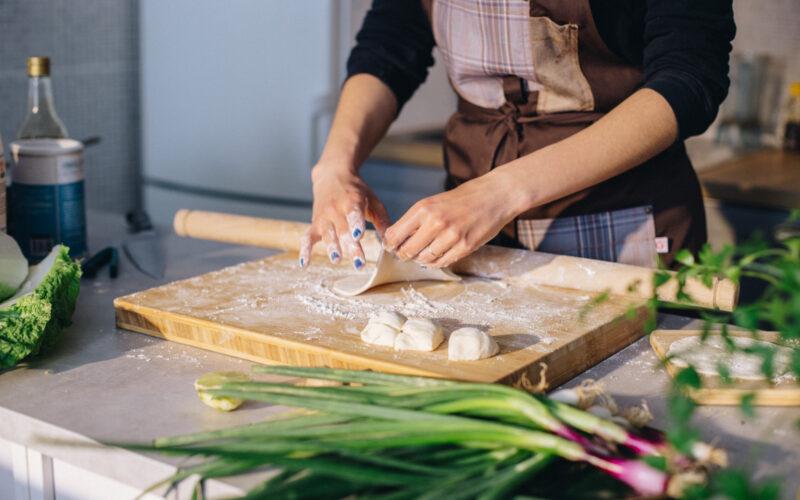Curry od lososa i bok choy kupusa   Gladusa.com